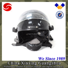 European style full face anti riot helmet with visor used in military and army