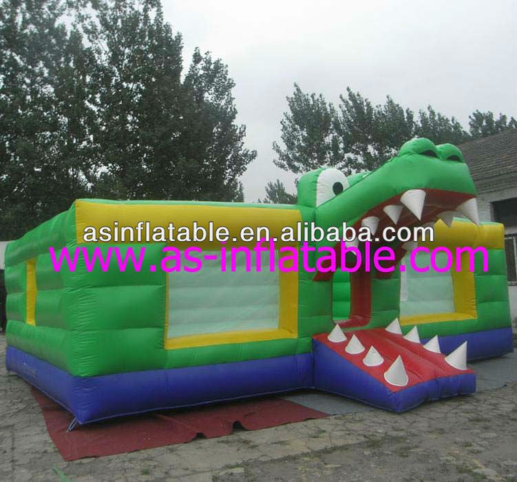 inflatable obstacle bouncer dinosaur bouncer