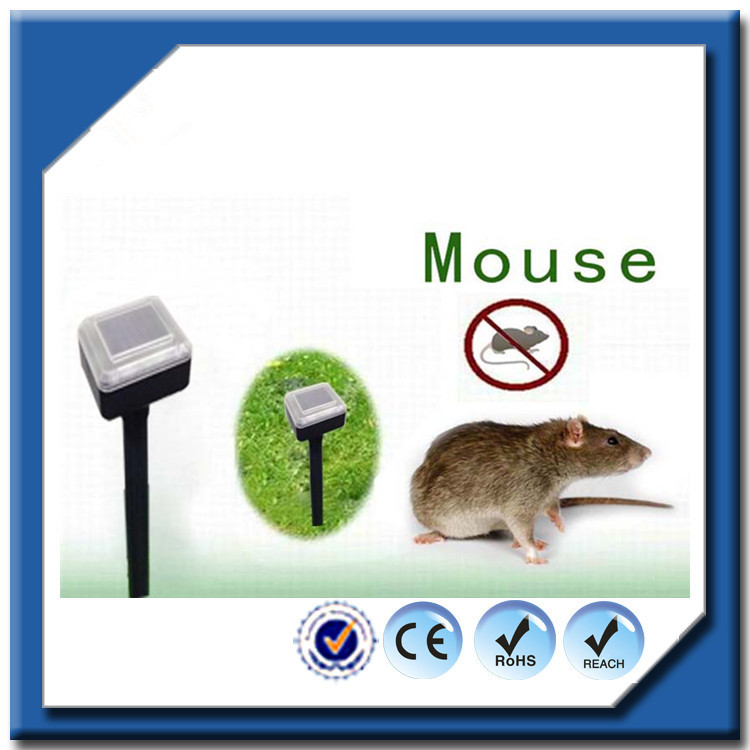 America hot selling mice/snake control type ultrasonic anti mole repeller with solar power