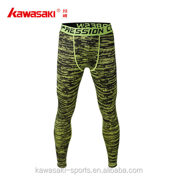 High quality printed gym yoga pants legging men custom compression tights
