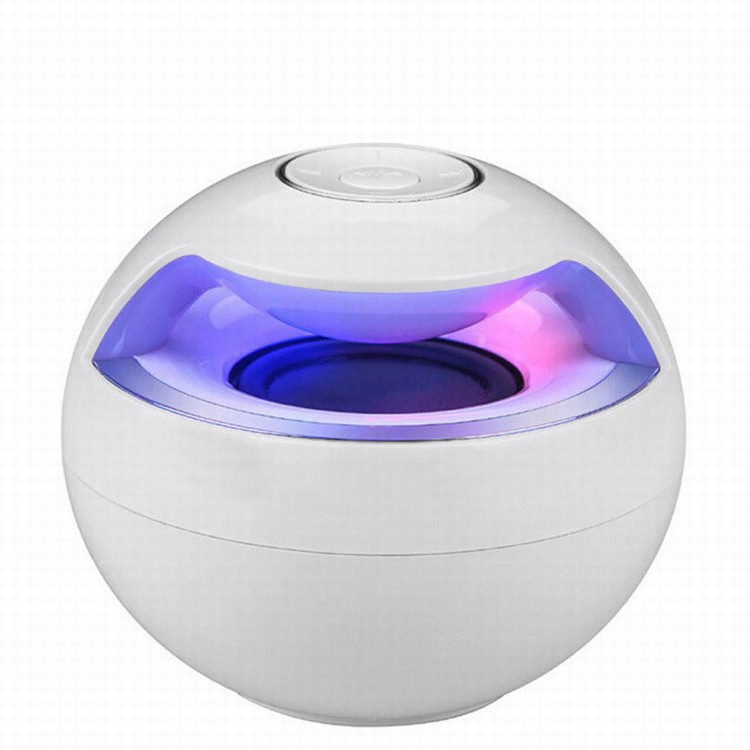 AJ69 Mini Bluetooth Ball Shaped Hands Free Speaker for Smartphone Pad Tablet PC