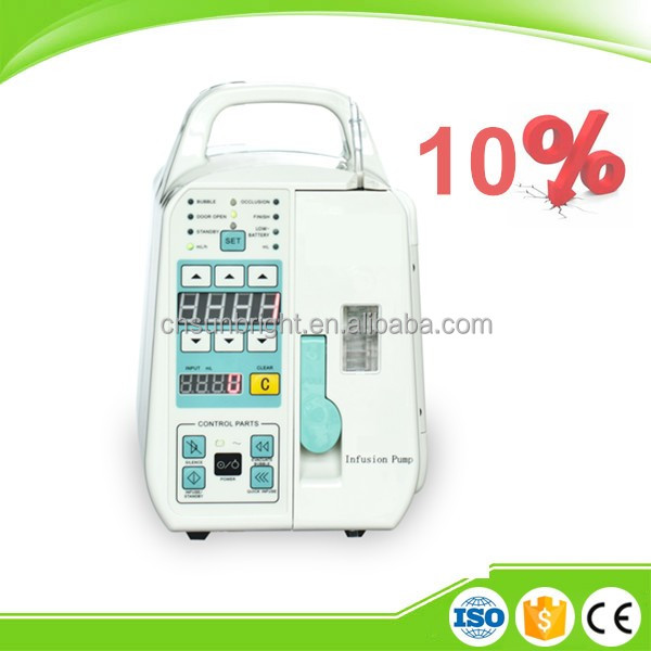 China SUN-902 hospital medical single channel Infusion Pump with drop sensor