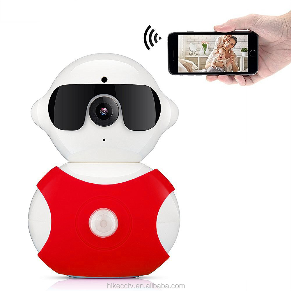 Hot sell Smart Home HD 720P Auto tracking 360 degree Pan Tilt P2p PTZ mini Wireless WIFI baby wireless ip camera
