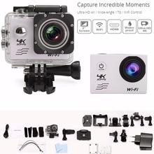 SJ8000 Remote control WIFI Cameras Allwinner V3 chipset 4K 30FPS Waterproof Sport Action Camera