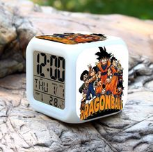 (2016 Top) Hot Anime Dragon Ball Alarm Clock, SON GOKU Digital Alarm Clock, Dragon Ball Toy Clock