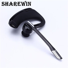 V8 bluetooth wireless headset headphone ear with mic for mobile phone