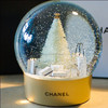 Creative Fashionable Noble Resin Snow Globe