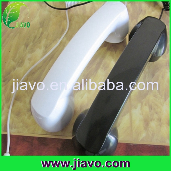 Anti-radiation/noise reduction handset receiver for mobile phone