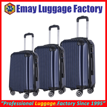 ABS Material Aluminum Trolley Travel Luggage Sets