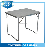 aluminum camping table for outdoor and garden