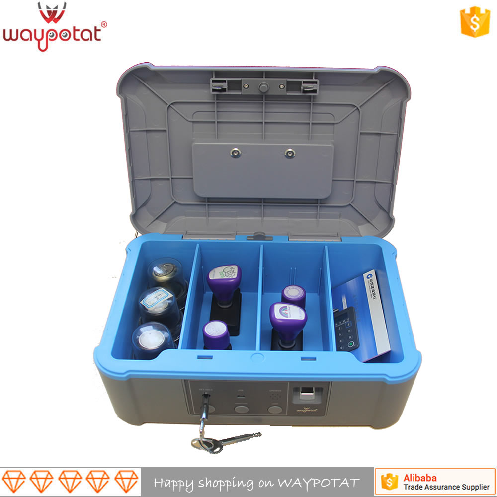 WAYPOTAT latest handheld plastic medical safety box fingerprint safety deposit box FS-<strong>01</strong>