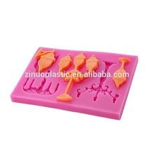 Creative DIY attractive style pastry lace silicone soap fondant mould