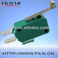 green lever roller mini micro switch 3 pin