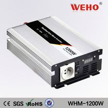 Popular newest single phase 1200w 110v 48v hybrid pv inverter