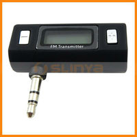 Wide Frequency Cell Phone Audio FM Radio Car Music Transmitter