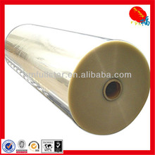 Plastic film in PET for printing and packaging