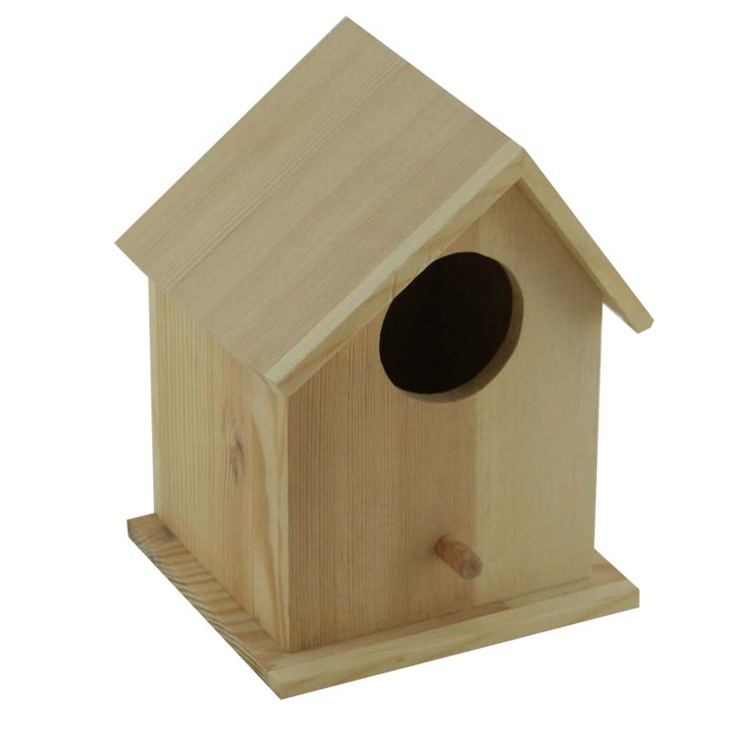 Customized birch decorative wooden bird cages wholesale