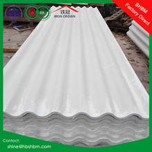 High strength anti corrosion PET membrane corrugated roofing tiles
