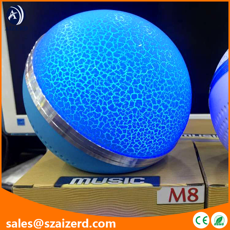 Hot Selling Multifunctional Ball Shaped Bluetooth Speaker