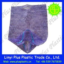 100% new material mesh bag/onion tubular mesh bag 50*80cm 25 kg