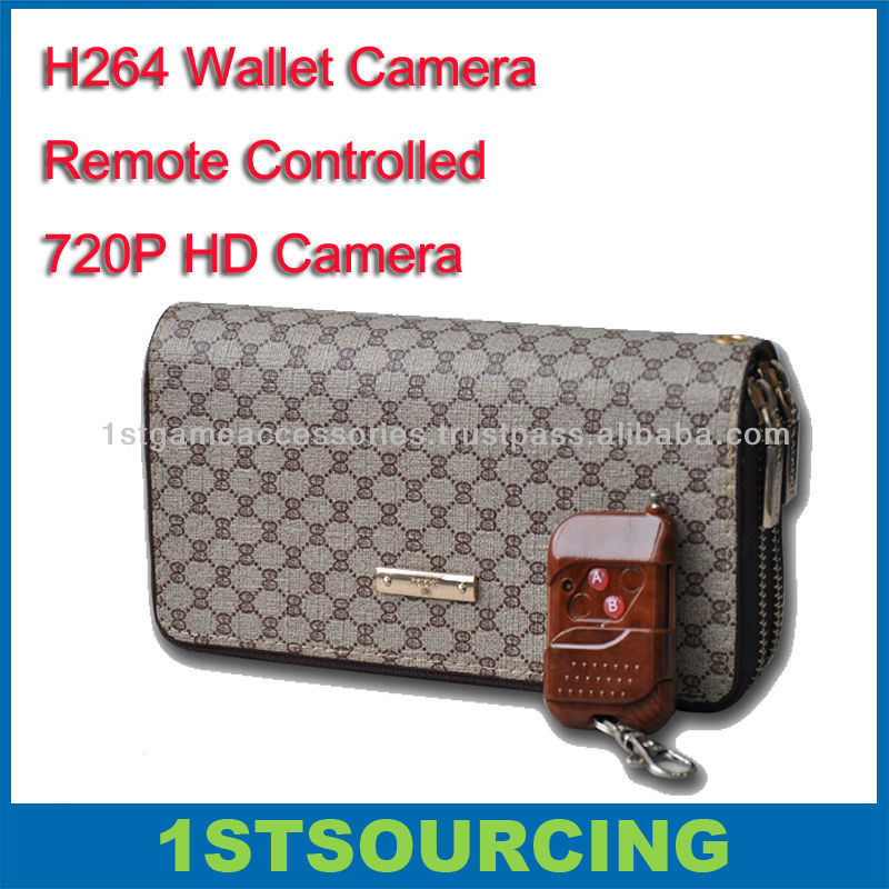 H.264 bag hidden camera with remote controlled 720p