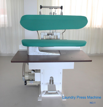 Hot sell laundry ironing press machine