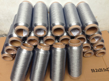 Resistance to high temperature of 1300 degrees stainless steel fiber sewing thread
