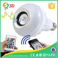 IOS App Bluetooth Control RGBW Color Magic music LED Smart light Lamp Bulb/ 5W RGB Bluetooth led light