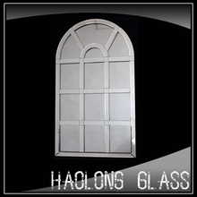 window shape arched decorative mirror