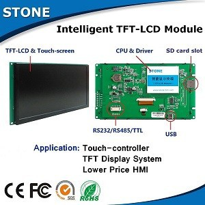 stone tft lcd module with touch screen for lm171w02 tl b2