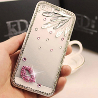 3D Bling Rhinestone Diamond Crystal case for iPhone 5,Hard Fashion Phone Case for iPhone 5
