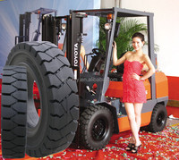 hot sale Toyota forklifts parts rubber tires solid rubber tires 6.5x10-5 21x8-9 18x7-8 28x9-15
