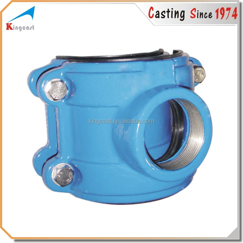 Custom products cast iron ductile iron pipe fittings for pvc pipe