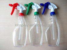 Garden cleaning products empty packaging 500ml plastic trigger spray bottle