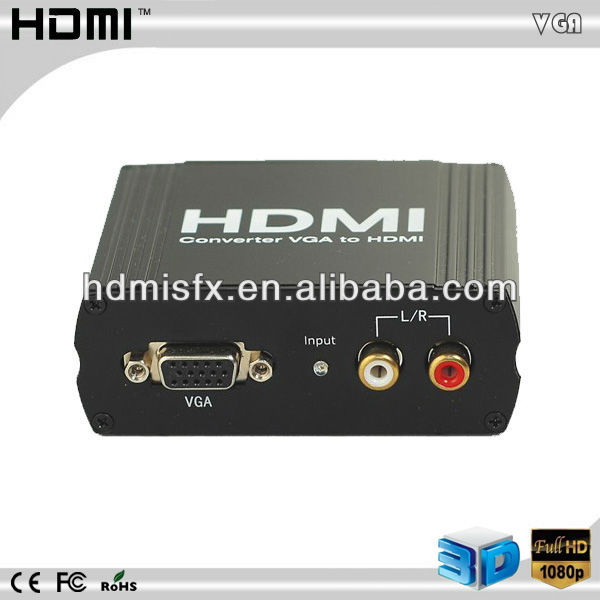 VGA +Audio to HDMI Video converter,HD Video/Audio Converter