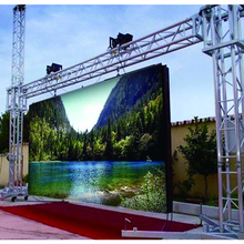 HD p6 p8 p10 led display cabinet outdoor led advertising screen price outdoor led video wall