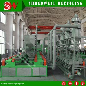 China Manufacture Scrap Tire Miller for Shredding Waste Tyre