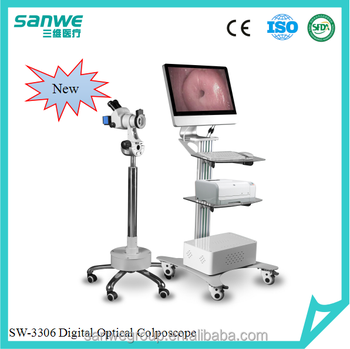 SANWE 3306 Colposcope with Software , Colposcope with Microscope, Digital Video Colposcope