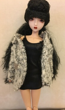 DIY dolls, customs doll,OB dolls, 27 cm height with joints body