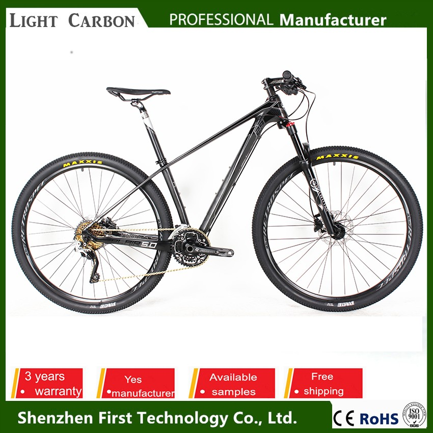 30speed aluminum alloy rim material caron fiber mtb bike with carbon frame material men beach cruiser