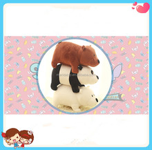 free sample lovely stuffed plush toy doll We Bare bears Cartoon Bear ,