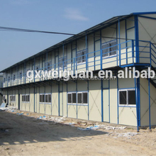 K style prefabricated prefab house for dormitory/ office/ workshop/ residential/ Car Garage