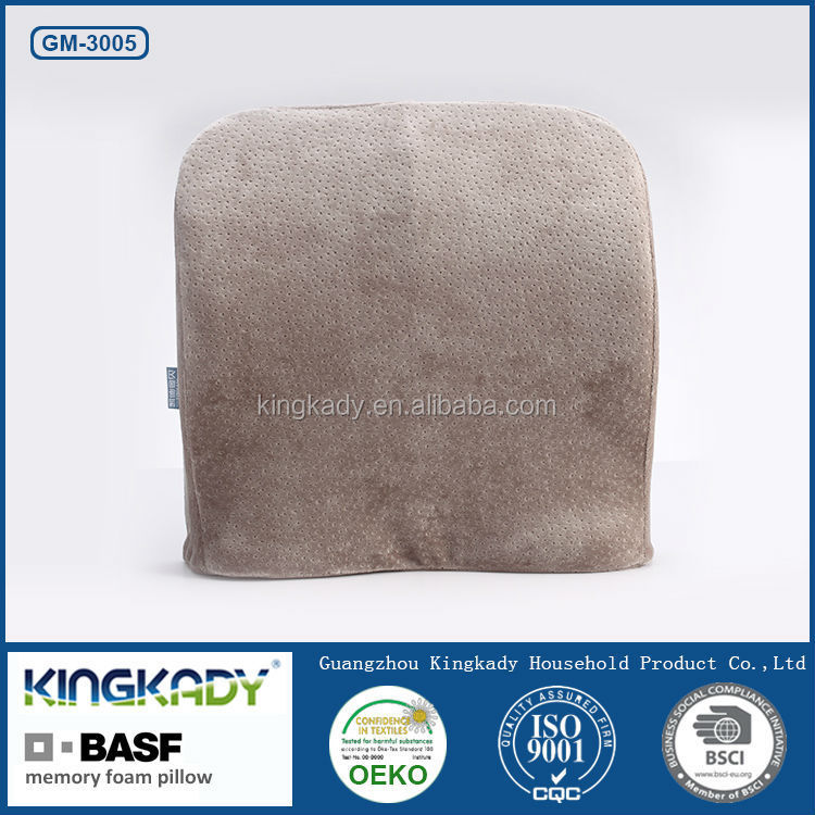 Portable gel seat lumbar support car cushion ,memory foam seat cushion
