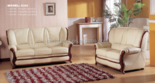 B364 Guangdong furniture, living room leather sofa set , classic leather sofa