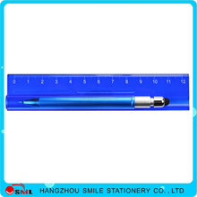 hot sale low price ruler ballpoint pen container