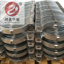 Hot dipped galvanized overhead line pole guyed pulling clamp hoops manufacturer
