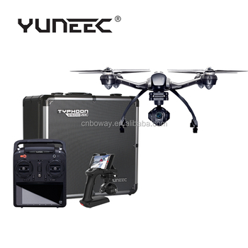 YUNEEC Q500 4K Quadcopter Drone with 2 Batteries and Aluminite Case
