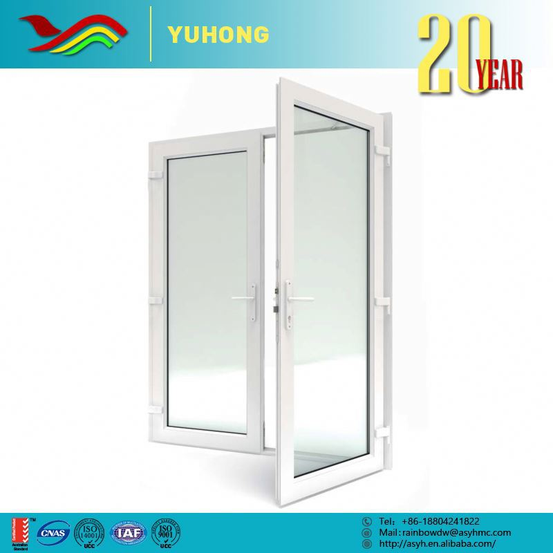 2016 new product top quality custom designs sound insulation entry door glass inserts