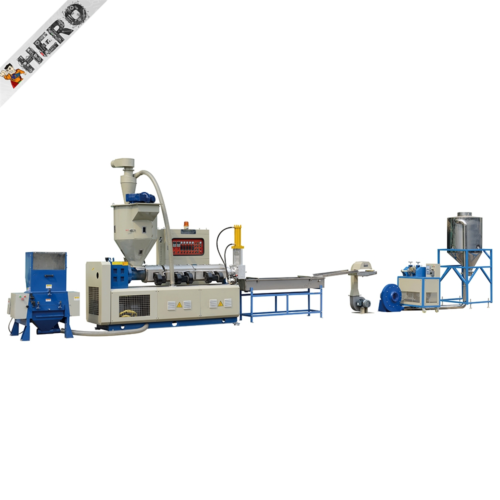 high quality waste plastic granules making machine polyethylene paper recycling machines for sale