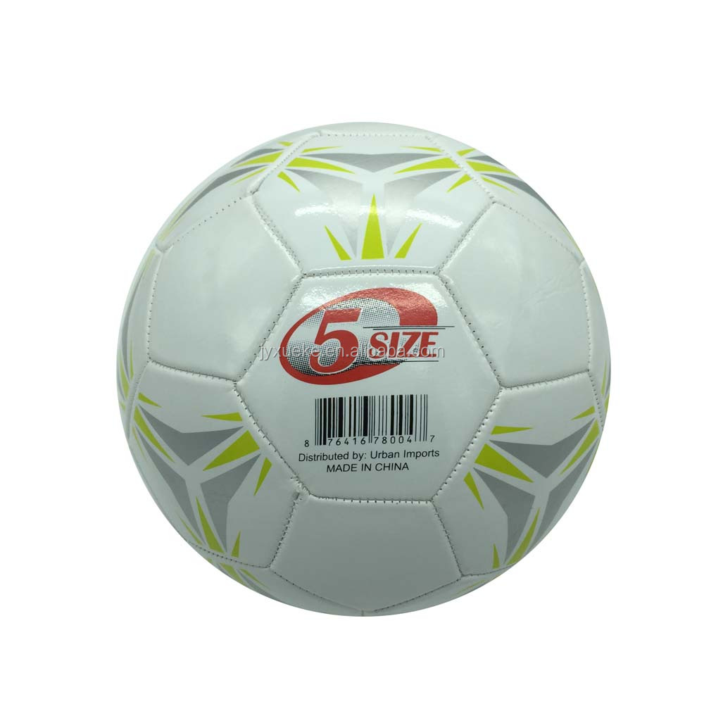 promotional pvc machine stitched soccer ball SB01